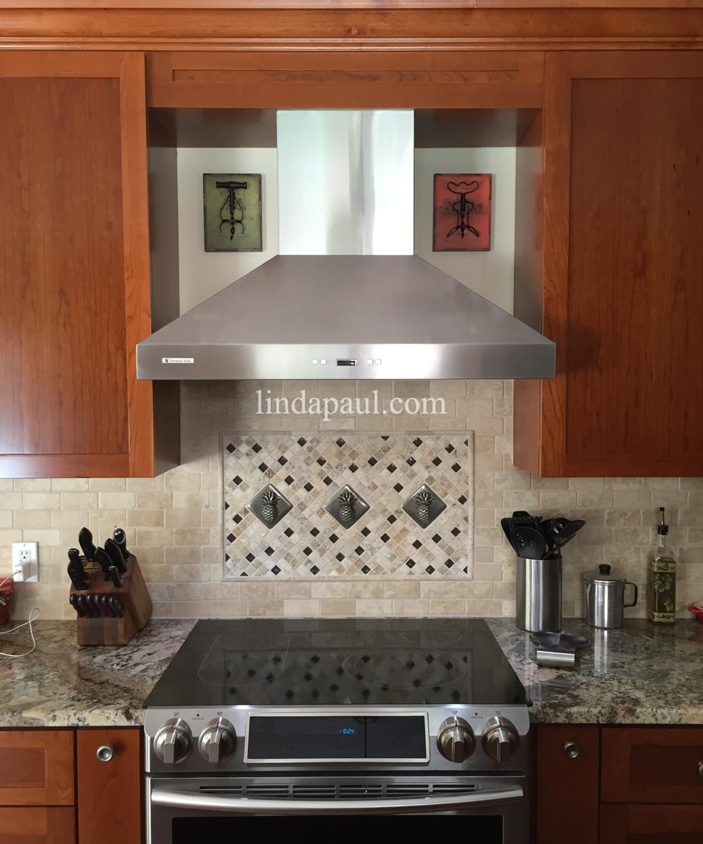 Pineapple Kitchen Backsplash Tile Mosaic Medallion Alluring Backsplash Designs & Pineapple Kitchen Backsplash Tile Mosaic Medallion Alluring ...