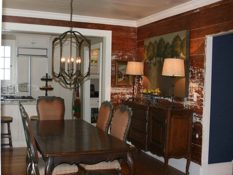 Planning Idea Dining Room Wood Paneling Makeover Remodel