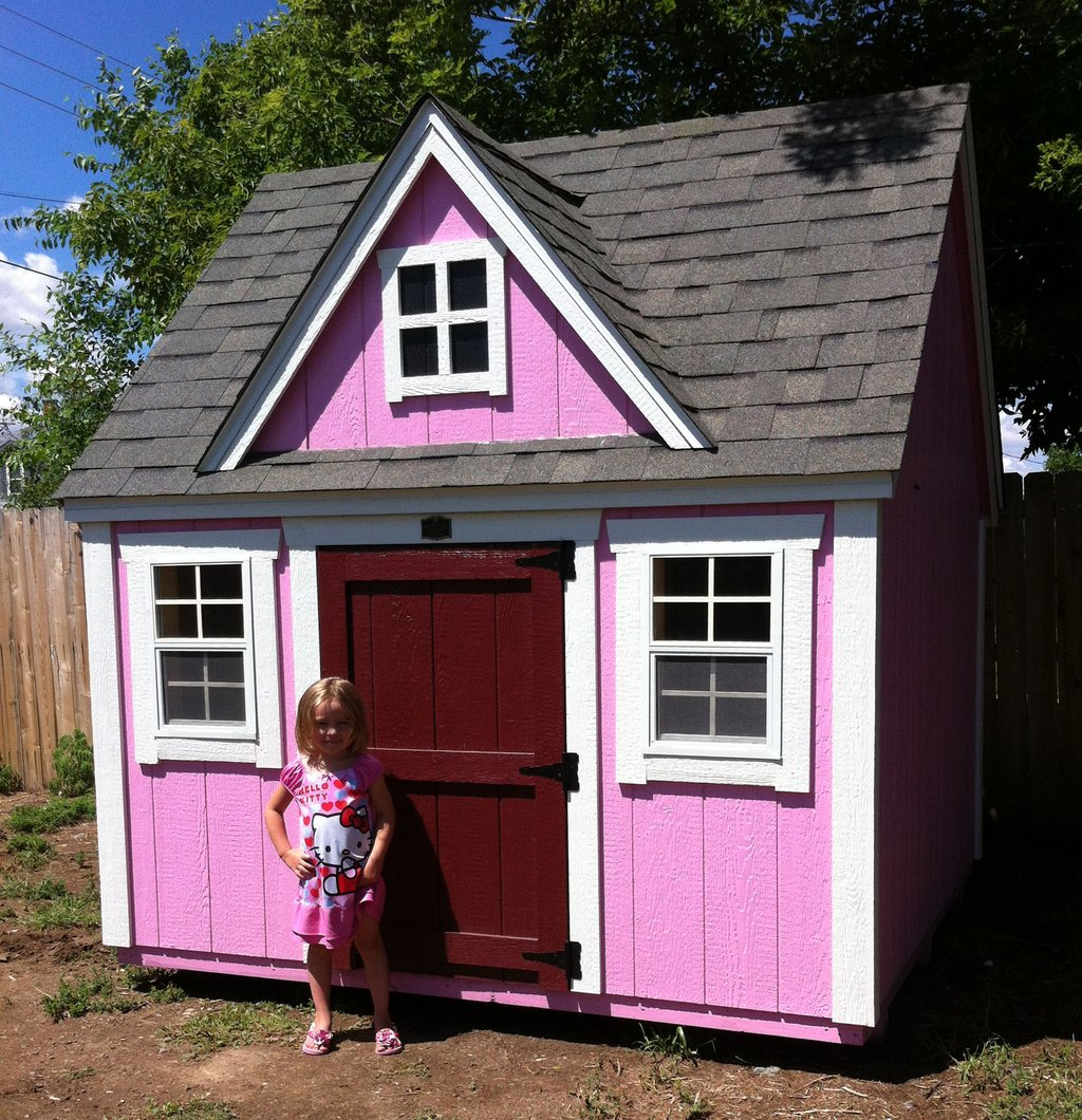Plastic Playhouse Kid Keter Play House Durability Of Kids Wooden Playhouse