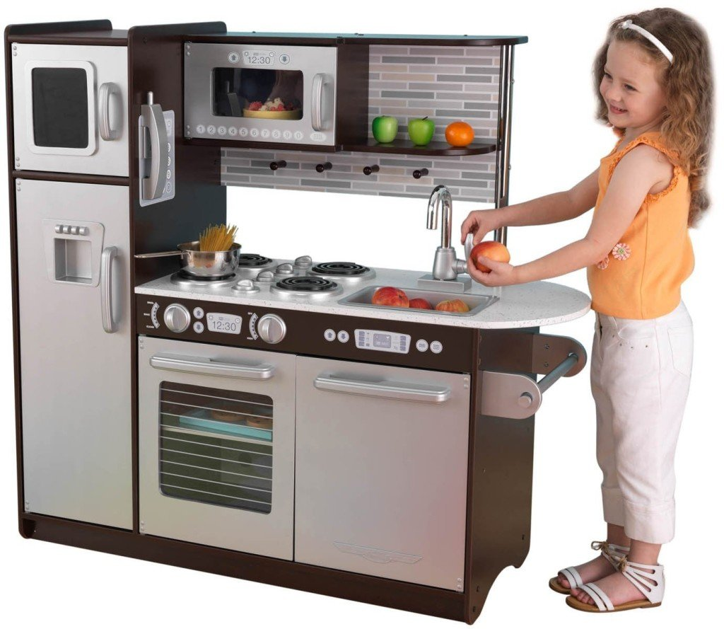 Play Kitchen Set Popular Wooden Kitchen Playsets For Childhood Education