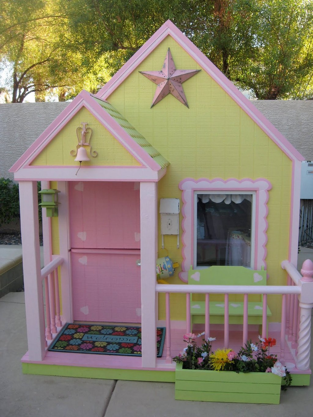 Playhouse Plan Woodworker Magazine Outdoor Wooden Playhouse With Slide