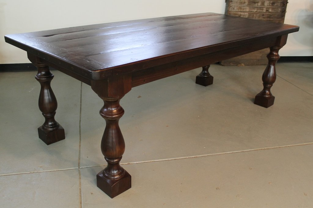 Popular Dining Table Leg Style Ecustomfinish Bar Height Table Legs Decor