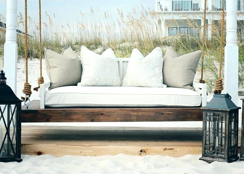 Porch Swing Bed Extraordinary Swing Daybed How To Build A Wood Twin Bed Frame