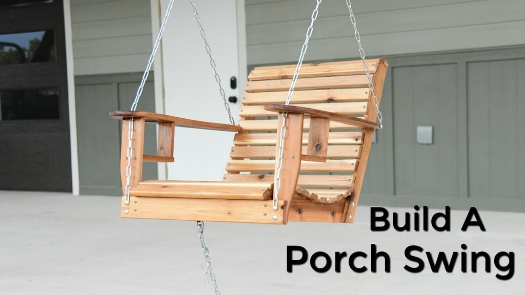Porch Swing   Bench Porch Swing Wooden Porch Swings With Frame