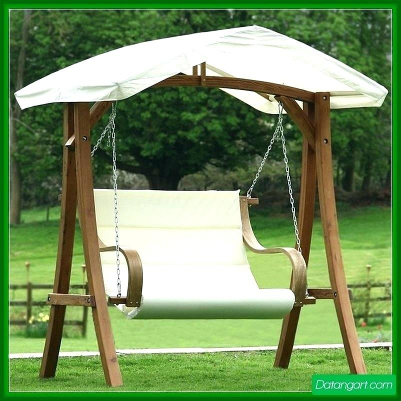 Porch Swing Canopy Activeescape Wooden Porch Swings With Frame