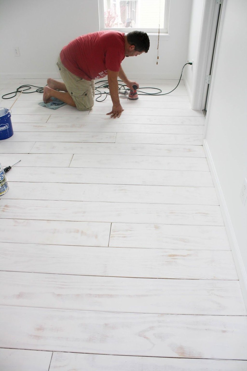 Post Finally Coming Major White Washed Laminate Flooring With Vinegar