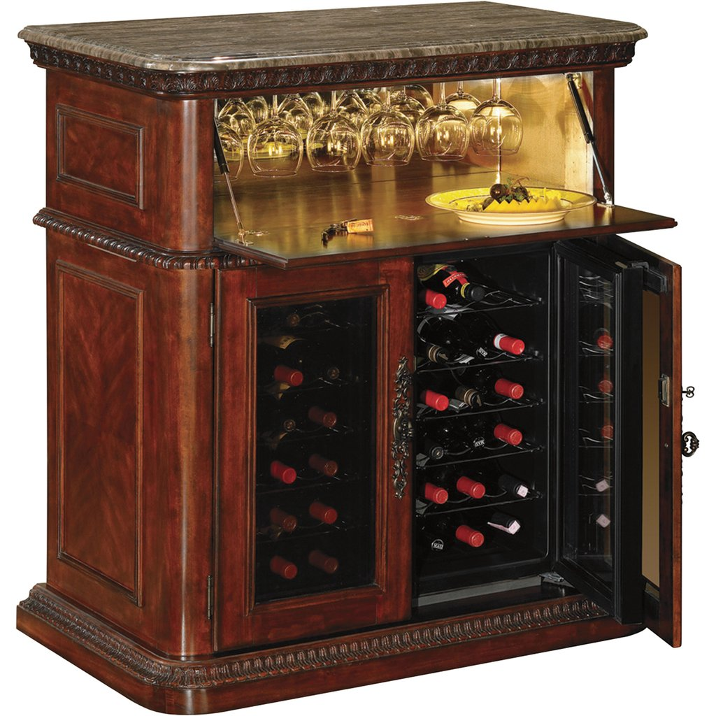 Product Tresanti Rutherford Wine Bar Cooler Model How To Installing Wine Cooler Cabinet