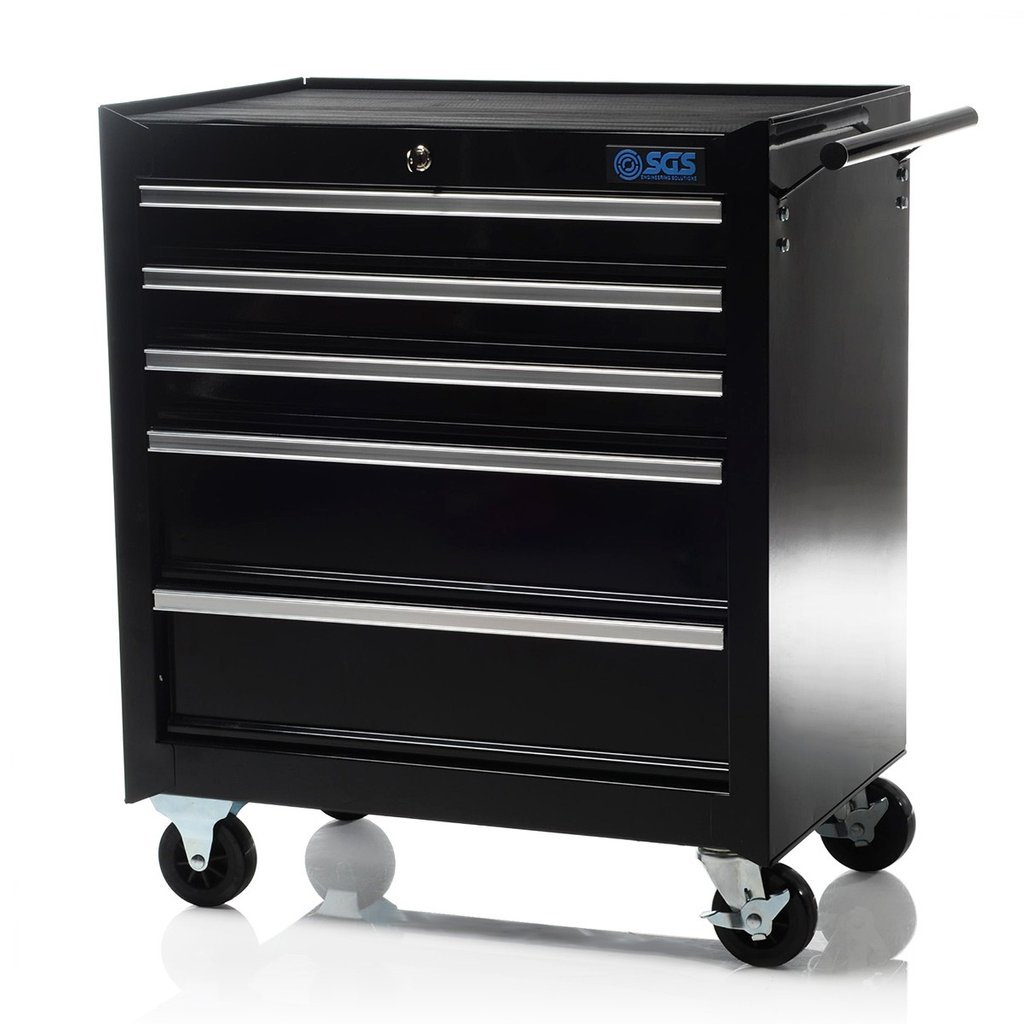 Professional Roller 5 Drawer Tool Cabinet Design Rolling Tool Cabinet