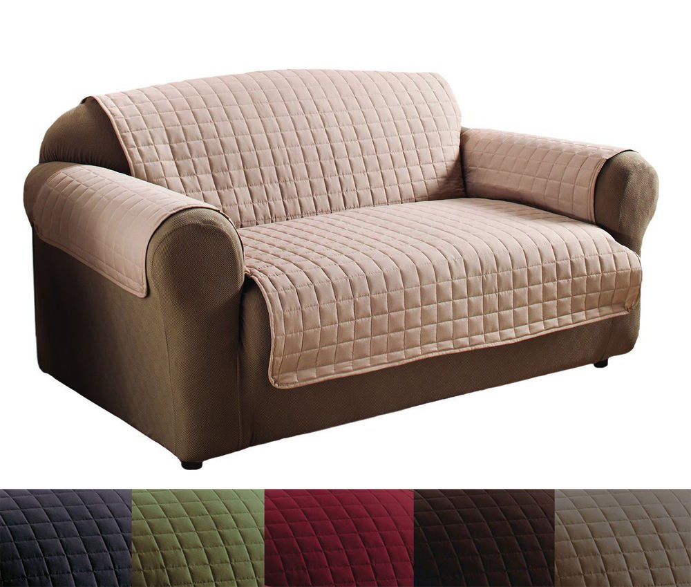 Quality Polyester Microfiber Quilted Loveseat Sofa How A Reclining Sofa To Function Properly