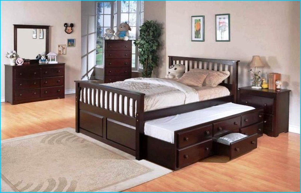 Queen Bed Trundle Making Wooden Queen Bed Frame