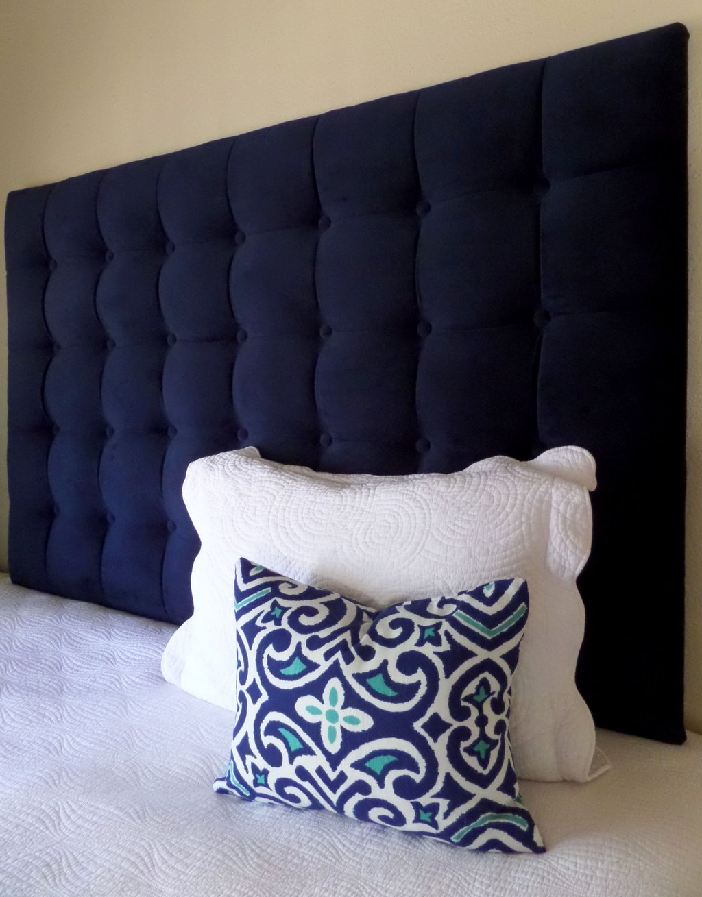 Queen Size Tall Tufted Upholstered Headboard West Elm Make An King Upholstered Headboard Size Sheet