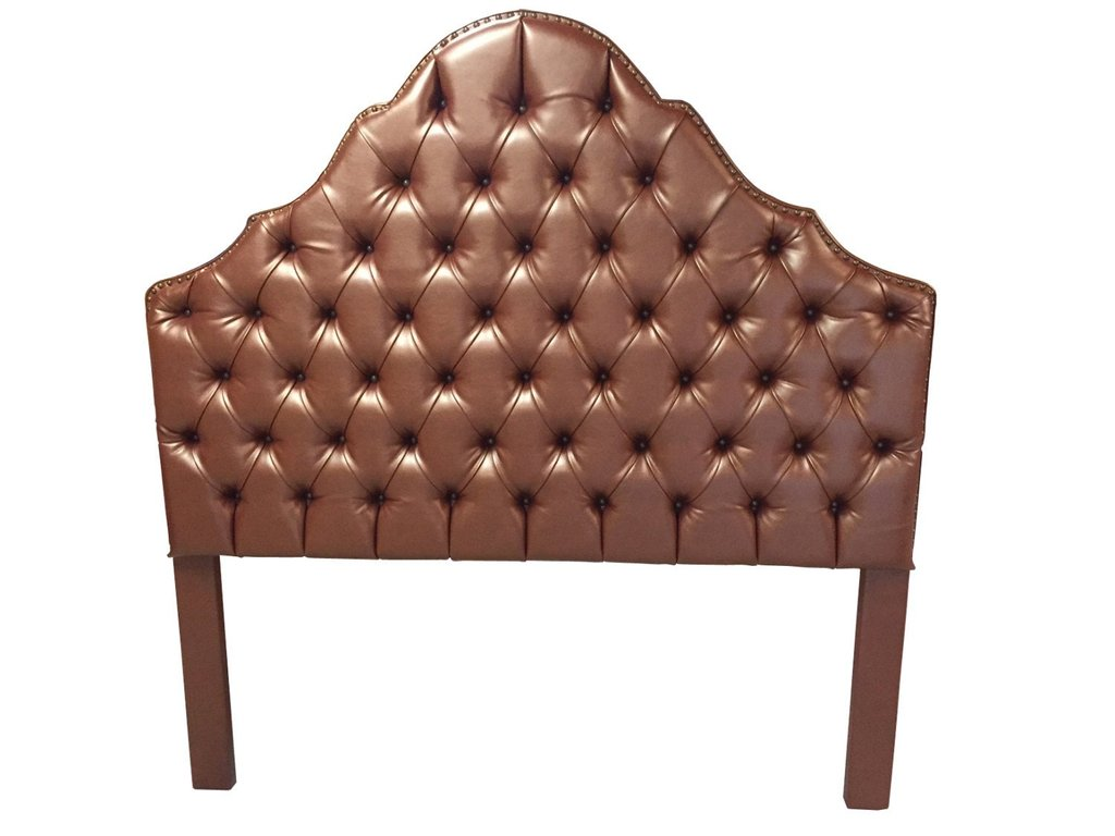 Queen Size Upholstered Tufted Headboard Bronze Faux Leather Guideline To DIY Tufted Headboard