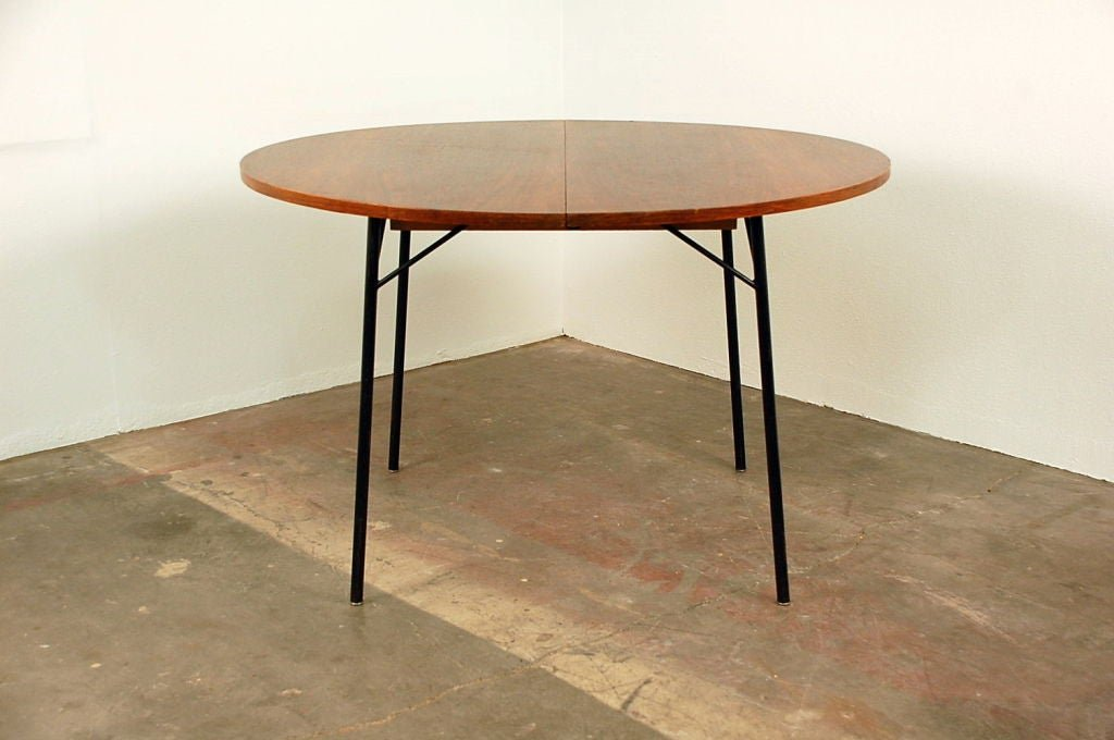 Rare French 1950 Extendable Rosewood Dining Table Extendable Dining Table Ideas
