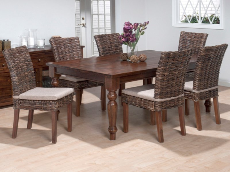 Rattan Dining Room Furniture Tropical Dining Chair How To Repair Rattan Dining Chairs
