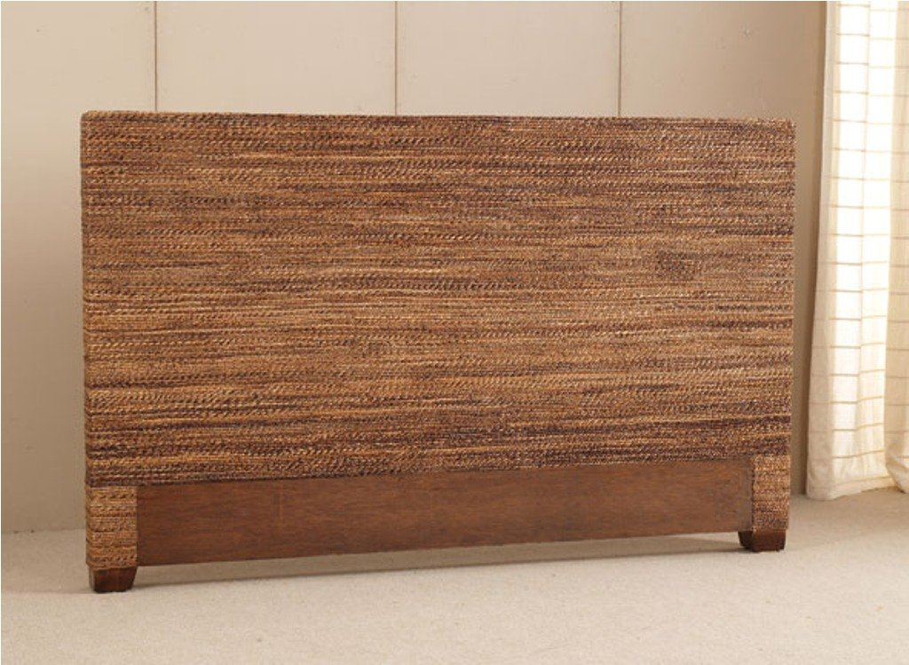 Rattan Headboard Tropical Touch Home Decor 88 Wicker Headboard Is Durable Furniture