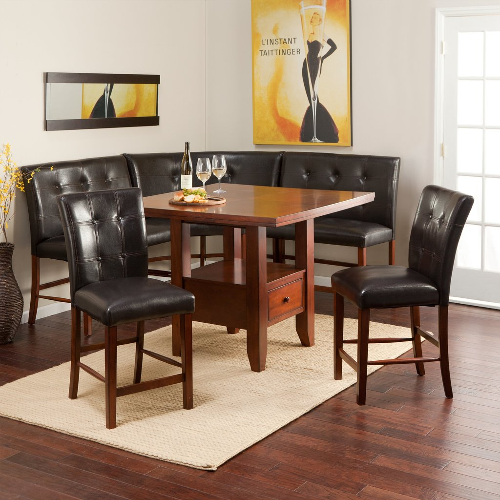 Ravella Counter Height 6 Piece Nook Set Dining Table Breakfast Nook Furniture Ideas