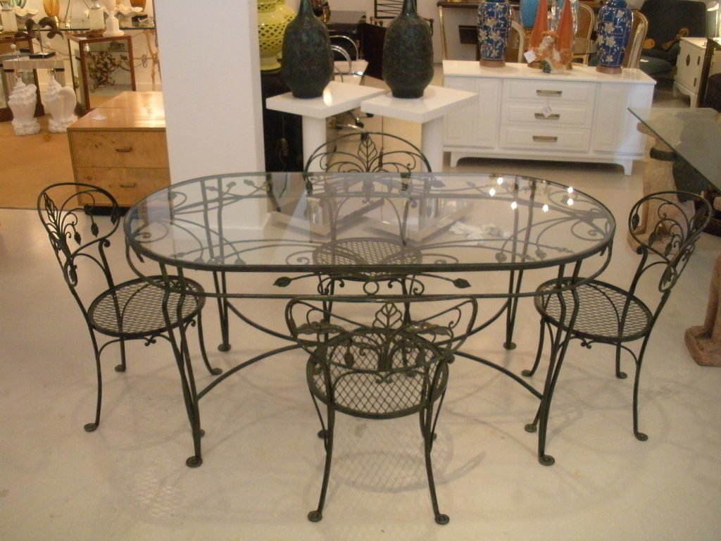 Ravishing Astonishing Modern Dining Room Decoration How To Restore Wrought Iron End Tables
