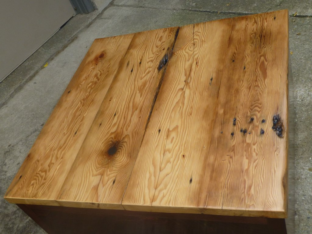 Reclaimed Wood Desk Top Leg Included Listing Reclaimed Wood Round Dining Table