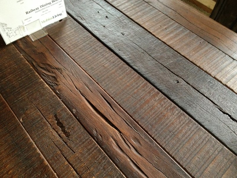 Reclaimed Wood Furniture Care Tip 5 Crumbs Brush How To Build Round Wood Table Tops