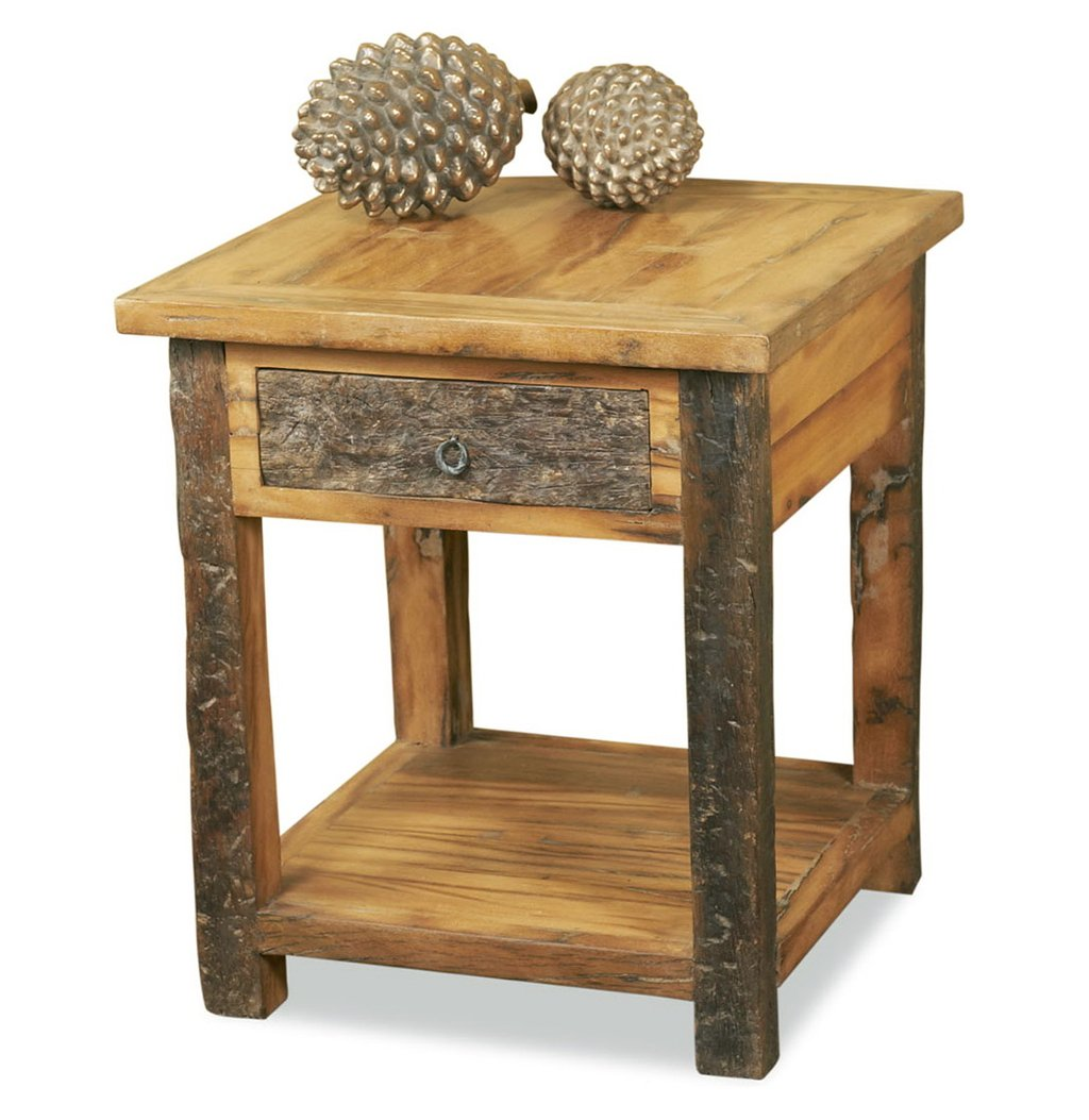 Reclaimed Wood Side Table Home Design Idea How To Reclaimed Wood Side Table