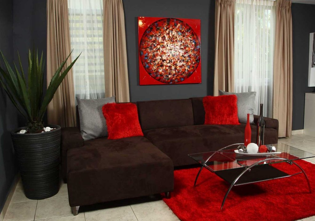 Red Brown Living Room Elegant Visually Powerful Give Living Room Beautiful Red Living Room Ideas