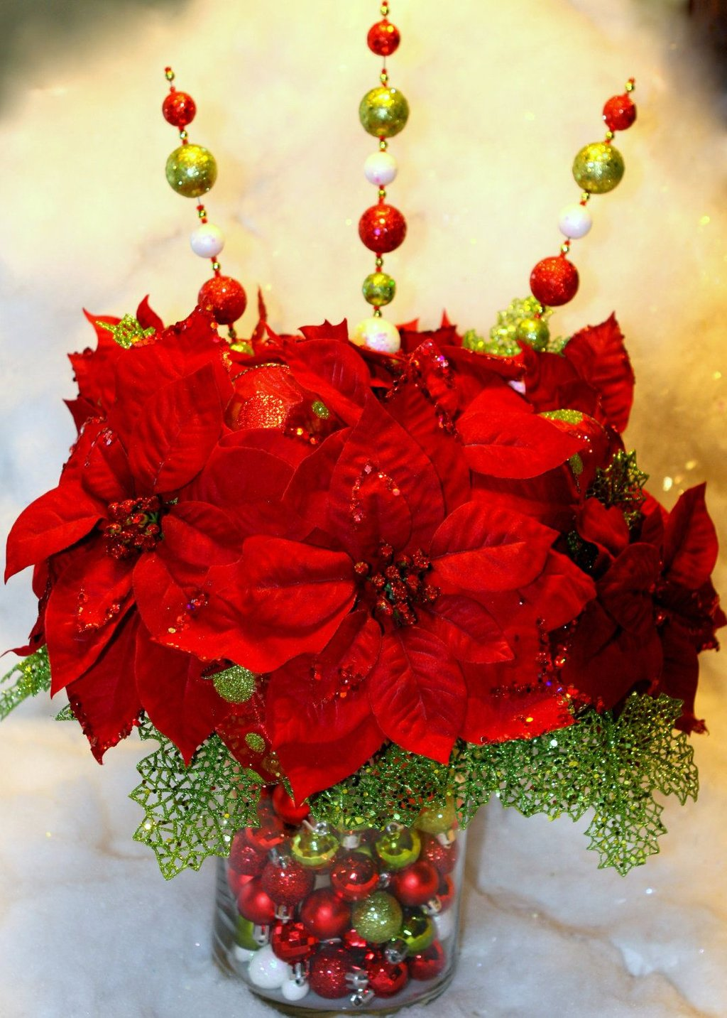 Red Green Christma Centerpiece Christma Centre Dining Room Table Centerpieces Ideas