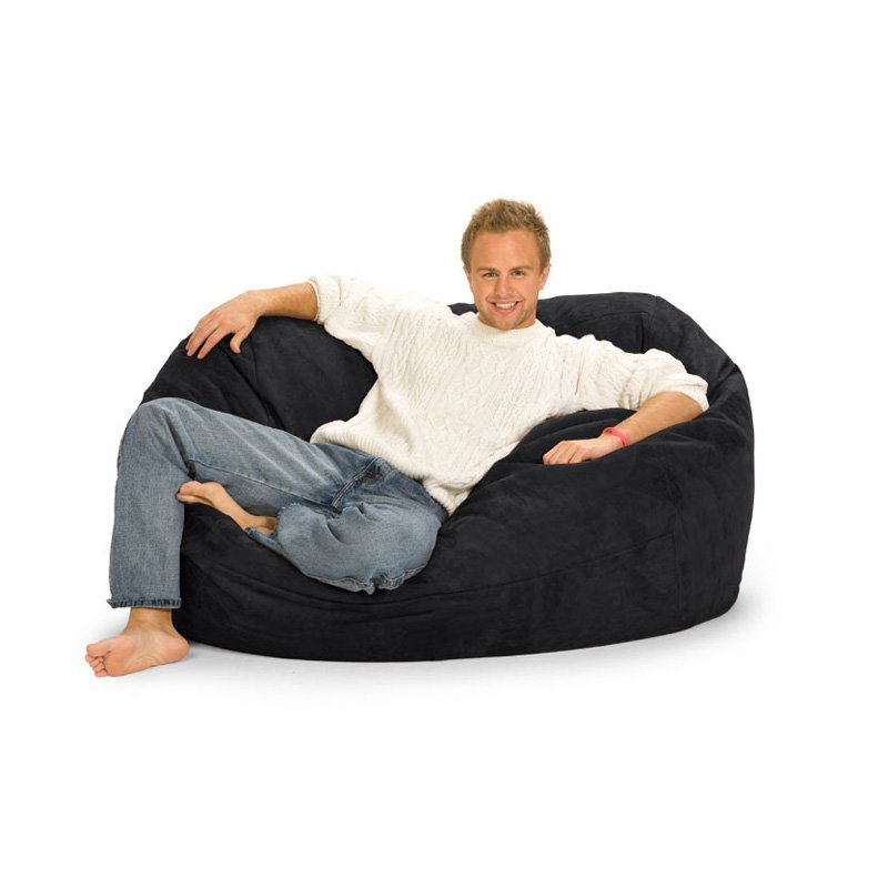 Relax Sack 5 Ft Microsuede Foam Bean Bag Lounger Yalane Memory Foam Bean Bag