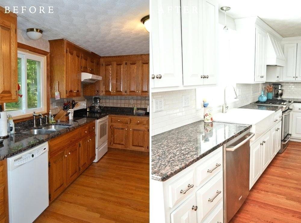 Restain Kitchen Cabinet Faux Staining Kitchen Cabinets Ideas