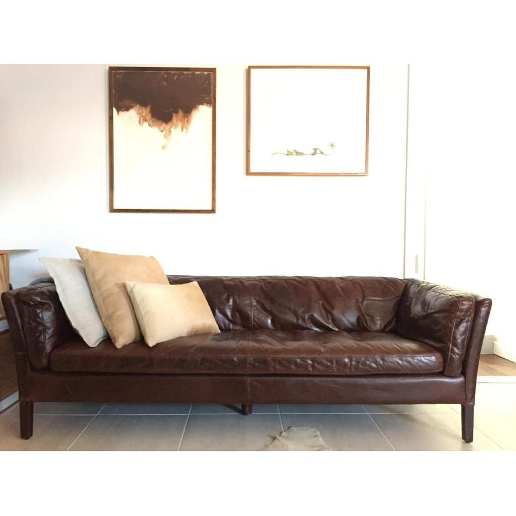 Overstuffed Sofa With Chaise Loccie Better Homes Gardens