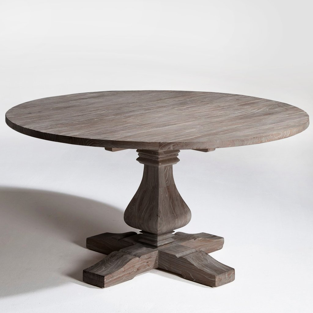 Retro Dining Table Chair Australium Classic Round Extendable Dining Table