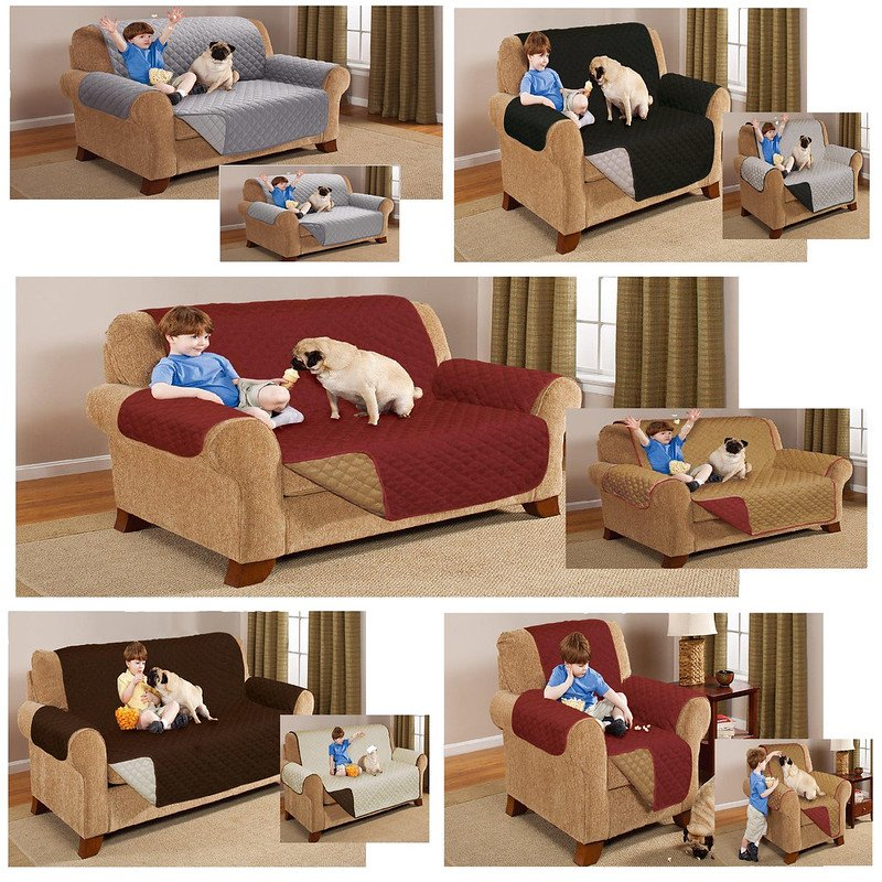 Reversible Sofa Protector Armchair Throw Settee Furniture Sofa Protector Home Ideas