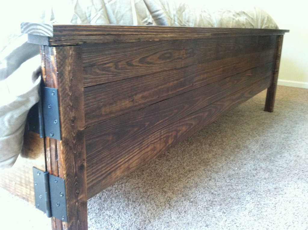 Rustic Headboard Rustic King Size Bed Frame With Headboard