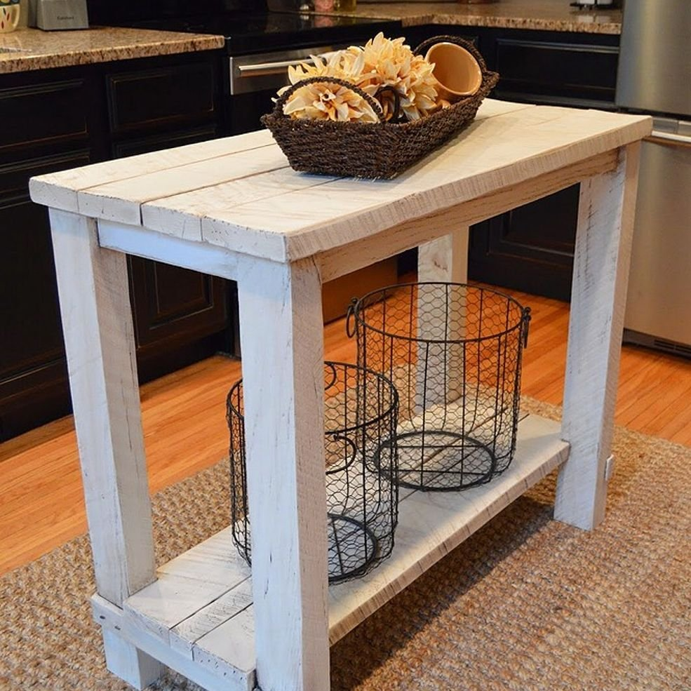 Rustic Reclaimed Wood Kitchen Island Table Island Kitchen Islands With Stools Ideas