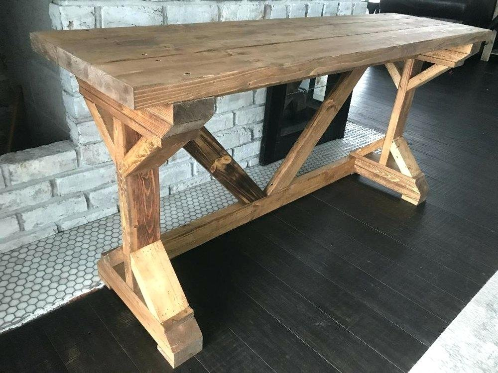 Rustic Wood Desk Rustic Wood Top Adjustable Height Table Extendable Dining Table Ideas
