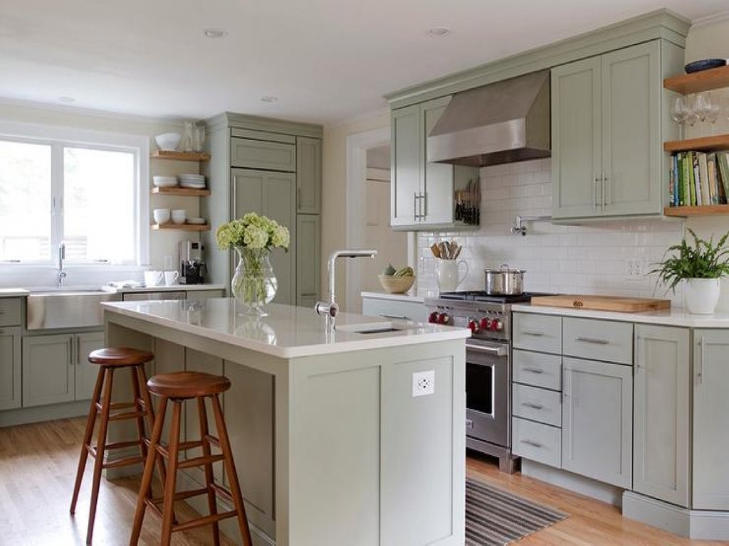 Sage Green Kitchen Accessories Sage Green Kitchen Wall What Colors Look Best With Green Kitchen Walls?