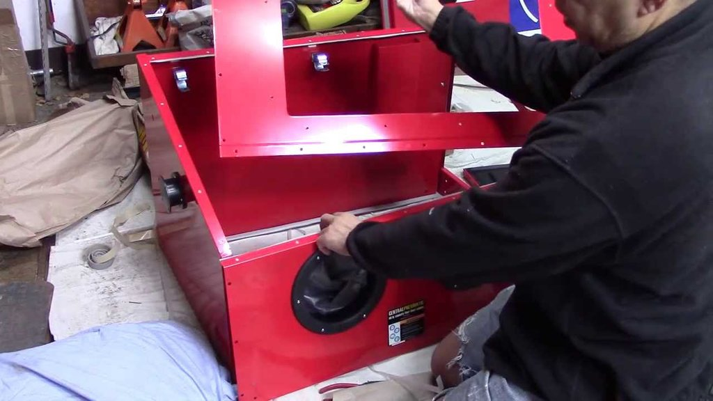 DIY Sand Blasting Cabinet – Loccie Better Homes Gardens Ideas