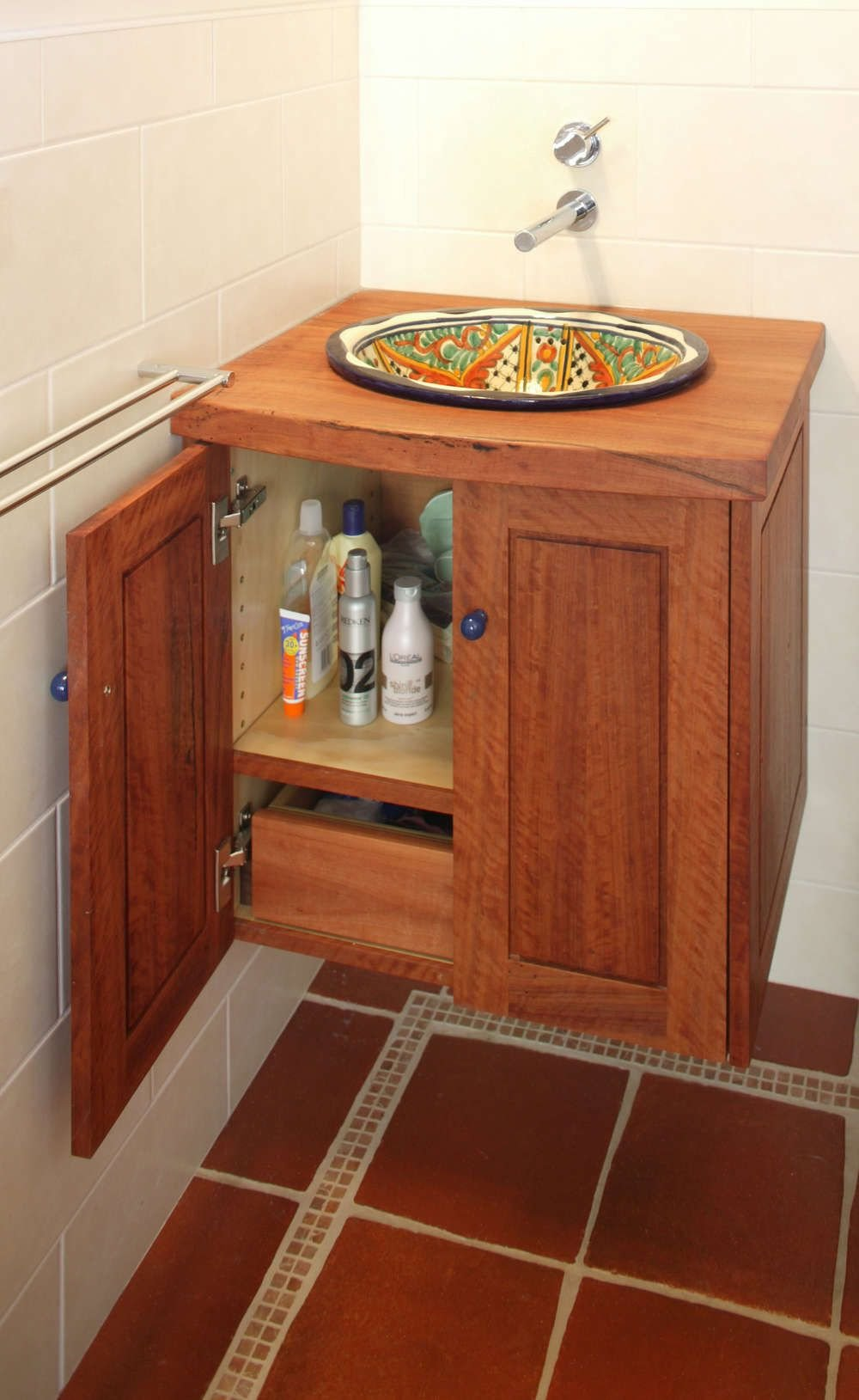 Select Custom Joinery Redgum Plywood Vanity Solid Wood Vanity Units For Bathrooms