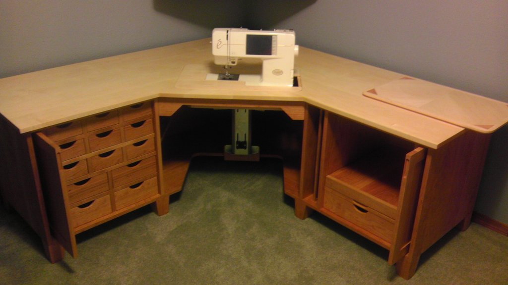 Sewing Table Cabinet Table Idea Counter Height Kitchen Tables Design