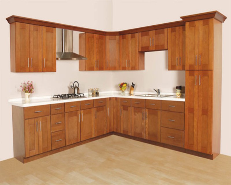 Rustic Maple Kitchen Cabinets - Loccie Better Homes ...