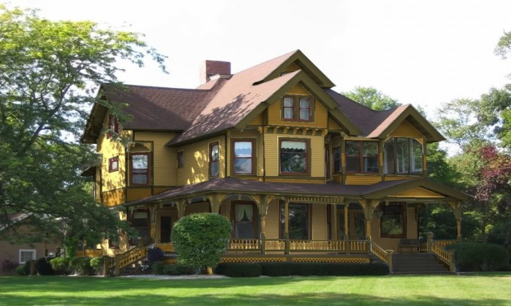 Siding Color Homes Extraordinary Design Victorian Popular Paint Of Wood Siding Types