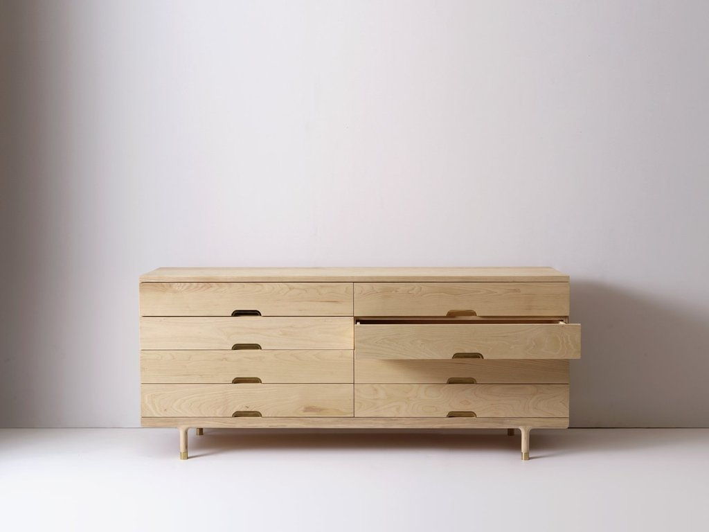 Simple Dresser Kalon Studio Interior Make Wooden Narrow Dresser Easier For The Drawer Slide