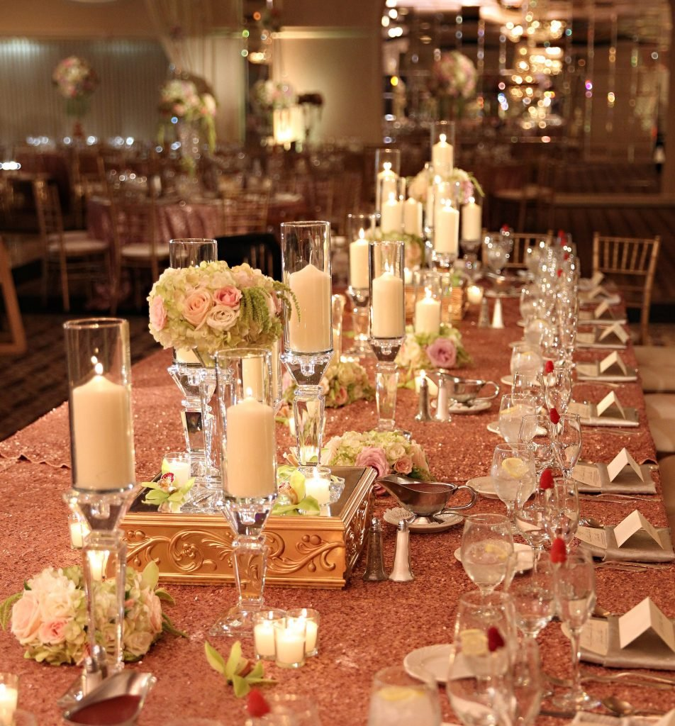 Simple Elegant Guest Table Decor Wedding Flower Dining Room Table Centerpieces Ideas