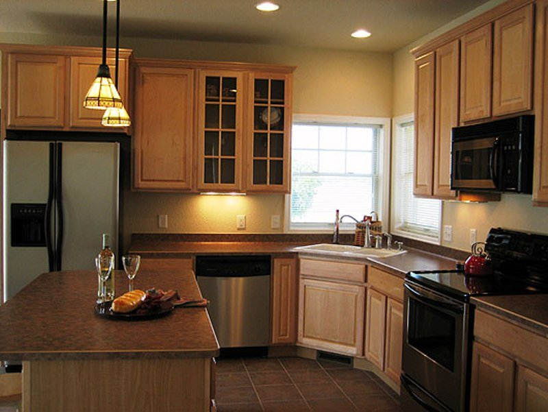 Simple Kitchen Layout Design Smart Idea Inspiring Rustic Maple Kitchen Cabinets