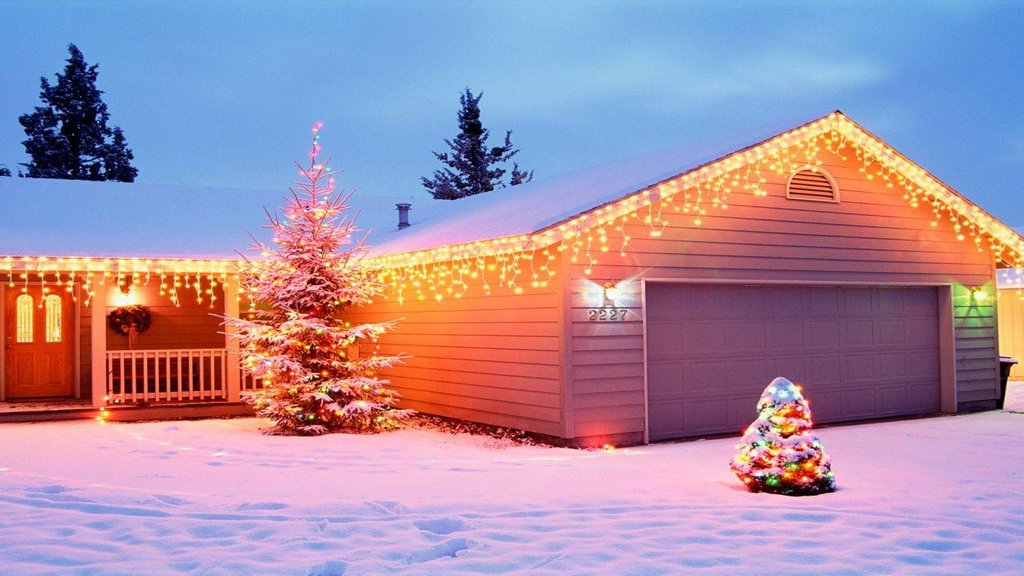 Simple Outdoor Christma Light Idea Home Lighting Christmas Light Ideas, Gorgeous Christmas Lighting Collections