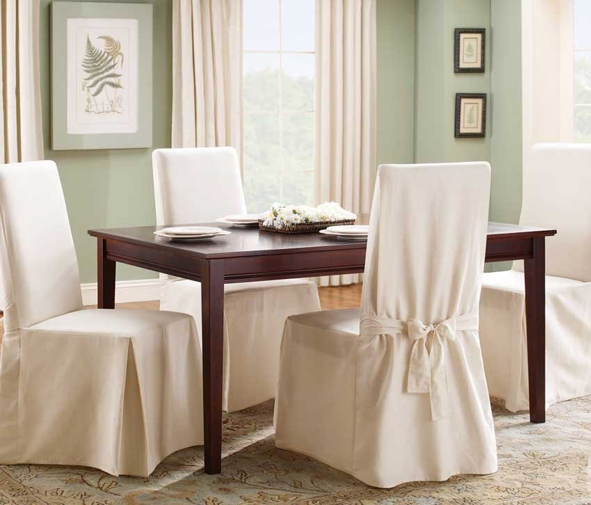 Slipcover Dining Room Chair Home Interior Design Making Dining Room Chair Slipcovers