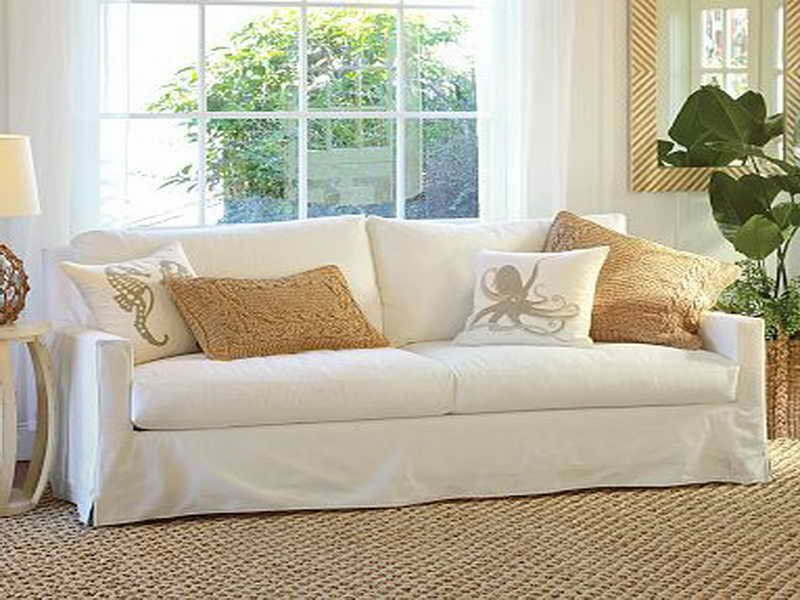 Slipcover Sofa Bemodern Cloud Grand Extra Long How A Reclining Sofa To Function Properly