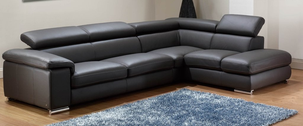 Small Black Leather Sectional Sofa Small Black Leather Best Oversized Sectional Sofas