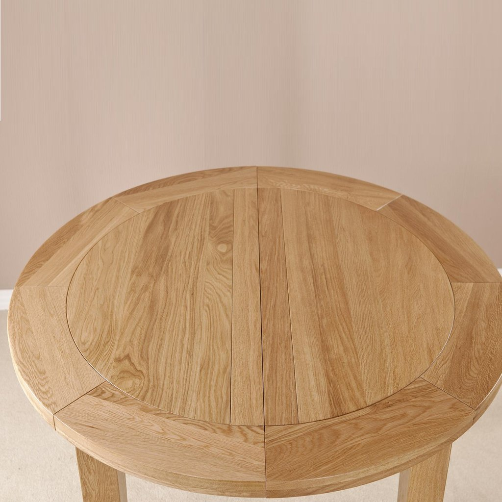 Small Oak Extending Dining Table Thepinksquirrel Classic Round Extendable Dining Table