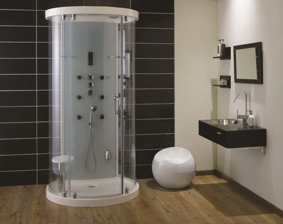 Small Shower Stall Installation Homy Design Shower Stalls For Small Bathrooms