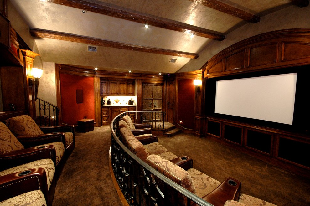 Smart Tip Comfortable Home Theater Decor Gbvim Guideline To DIY Tufted Headboard
